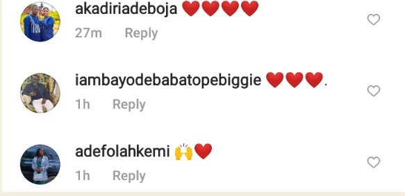 """""""Mummy Ire must not see this oo,this is too romantic"""" – Fans React to Romantic Moment of Actor Kolawole Ajeyemi and Actress Adebimpe Oyebade on movie set (video)"""